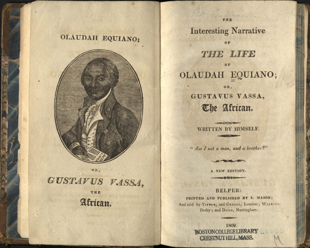 the life of an african slave in the autobiography of olaudah equiano Olaudah equiano – life on board  the words written here are from equiano's autobiography,  hebrew nigeria slaves ancestry nigerian slave olaudah.