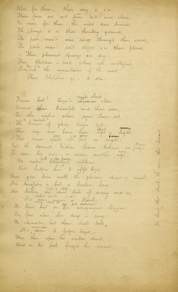 "Original image of poem ""Centennial Ode"""