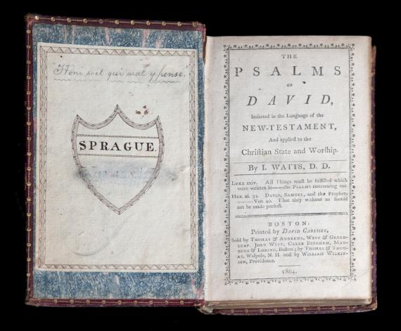 Image of The Psalms of David