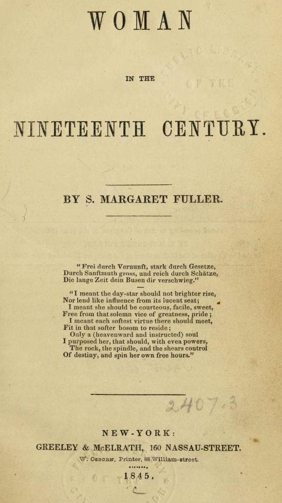 Image of Fuller Title Page